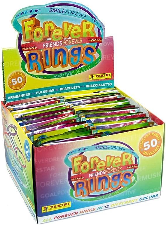 Panini Caja de 40 Sobres (1 sobre contiene 2 Pulseras FOREVER): Amazon.es: Juguetes y juegos
