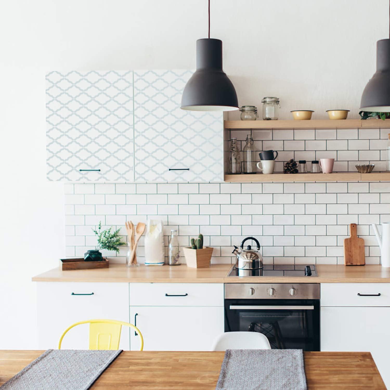 Plantillas reutilizables para pintar paredes, suelos, bricolaje, decoración del hogar, dibujo, 3 unidades, de Locolo: Amazon.es: Hogar