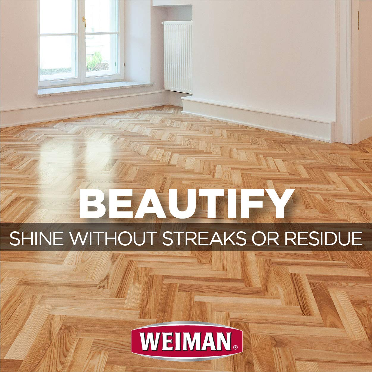 Weiman Wood Floor Cleaner [2 Pack] 32 Ounce - Hardwood Finished Oak Maple Cherry Birch Engineered and More - Professional Safe Steak-less by Weiman (Image #6)