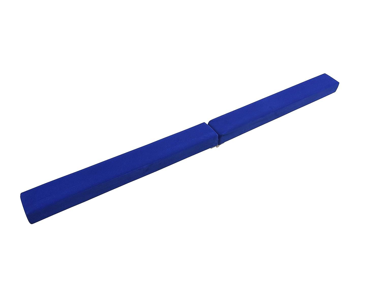 OFG 50 % Foam 50 %木製折りたたみ式床バランスビームfor初心者Gymnast練習トレーニング ブルー B073Z41PX1 Blue 5ft