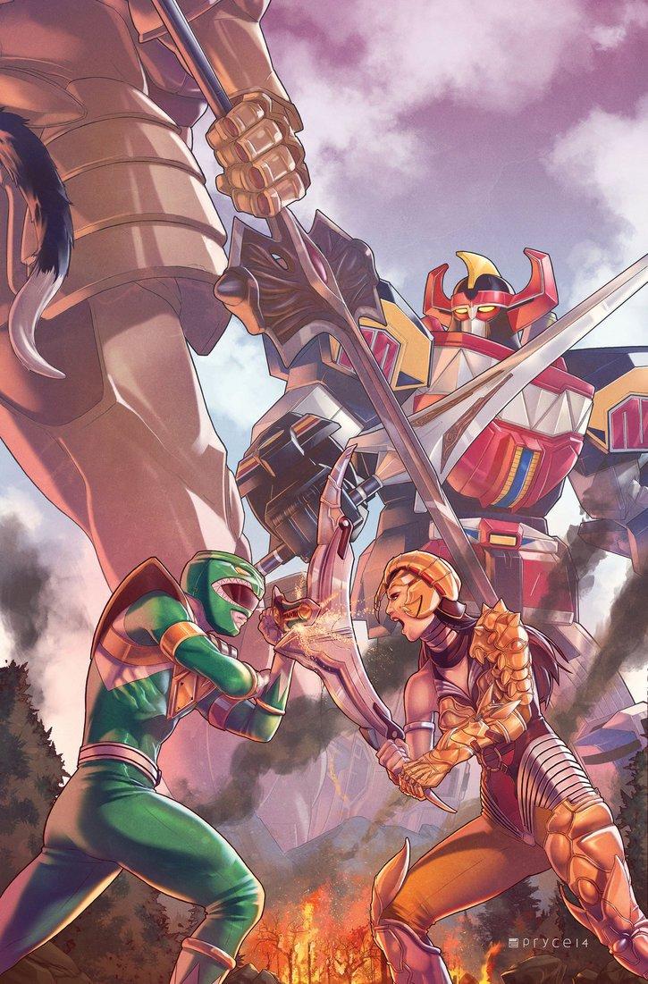 Download Mighty Morphin Power Rangers #2 Main Cvr Comic Book PDF