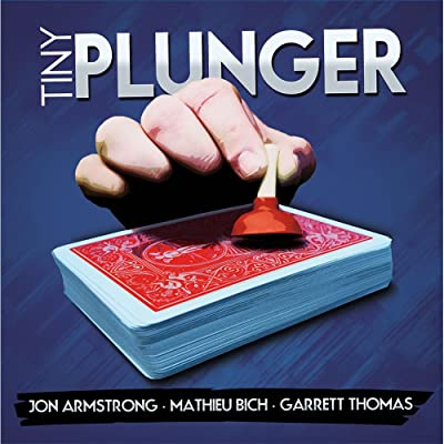MMS Tiny Plunger by Jon Armstrong, Mathieu Bich and Garrett Thomas DVD and Gimmick: Toys & Games