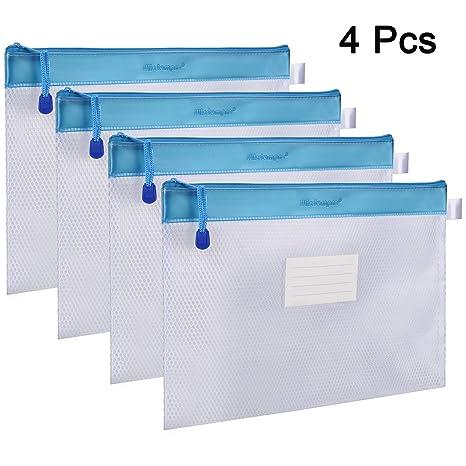 Amazon.com: Wisdompro - 4 paquetes de archivadores con ...