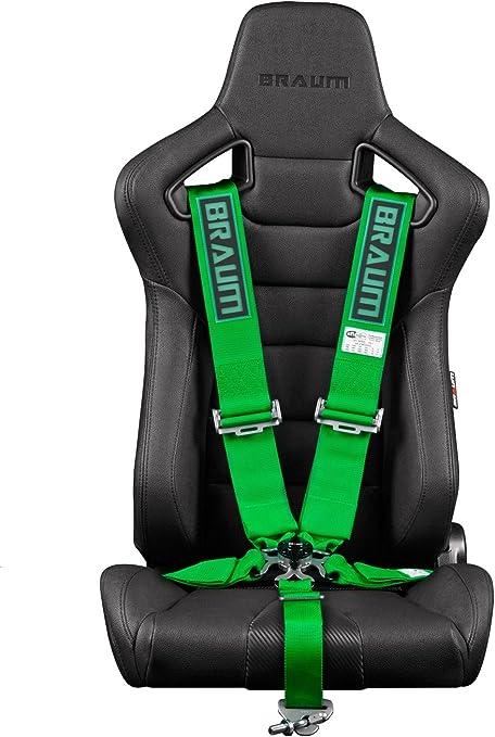Braum – verde 5 punto 3 (SFI 16,1 Racing arnés (brh-gns5): Amazon ...