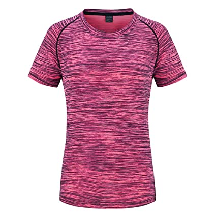 Correr la ropa de entrenamiento Outdoor Mountaineering Running Fitness Hombres y Mujeres Camiseta manga corta transpirable