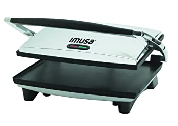 Imusa USA Large Electric 1400-Watt Panini Press