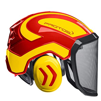 Protos Casco Integral Forest - Casco de Seguridad con ...
