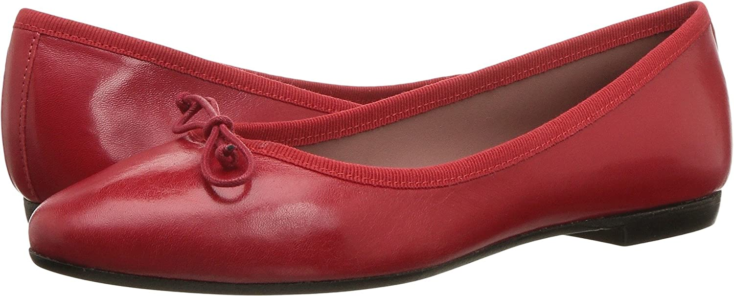 White Mountain Summit Kendrick Women's Flat B07CJRLXJZ 39 (US Womens 8.5-9) M|Red Leather