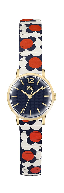 Orla Kiely Damen-Armbanduhr OK4040
