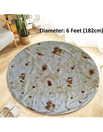 150cm Microfiber Mexican Tortilla Summer Beach Towel Outdoor Camping Picnic Blanket Home Casual Sofa Throw Blanket Home