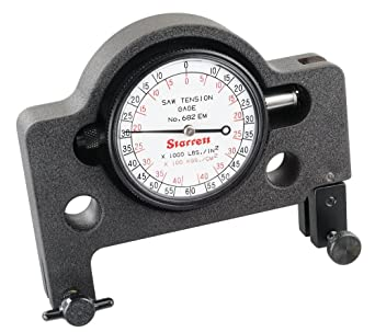 Starrett - Tensiometro calibrador para sierra 682emz