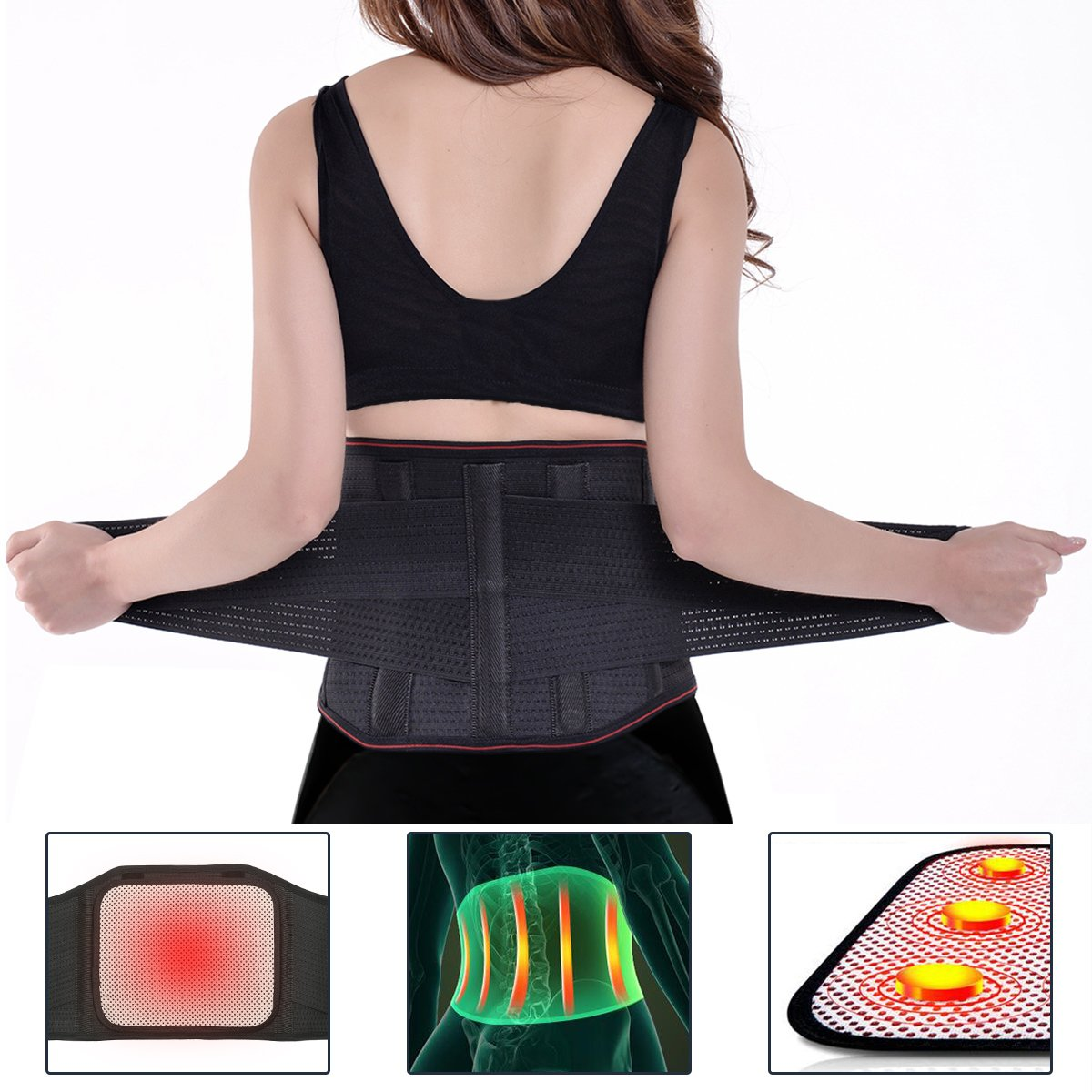 Looking for the perfect brace to sooth your aching back? This back support is great pain relief as it soothes and massages lower with its 13 Best Back Brace Women 2018 | apexhealthandcare.com