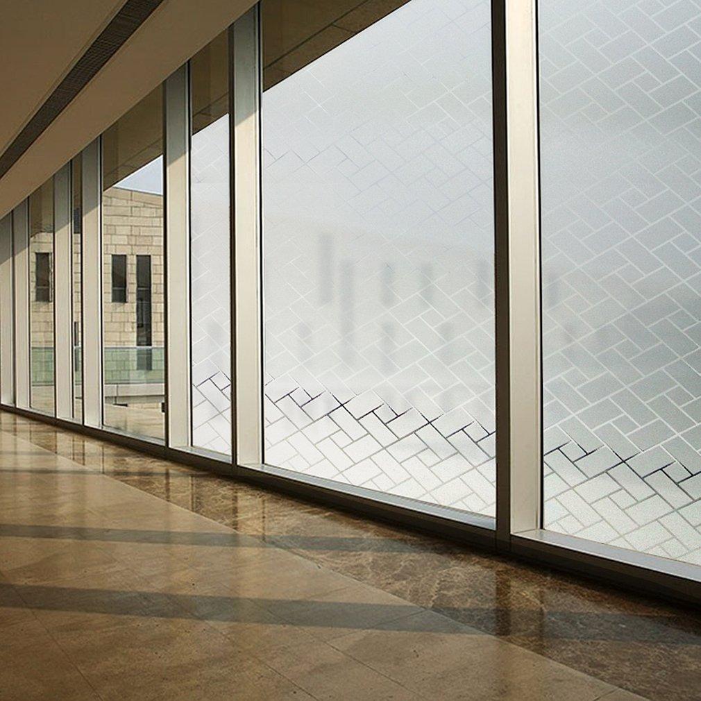 KINLO Fensterfolie statisch 90x200cm glasfolie tür folie für