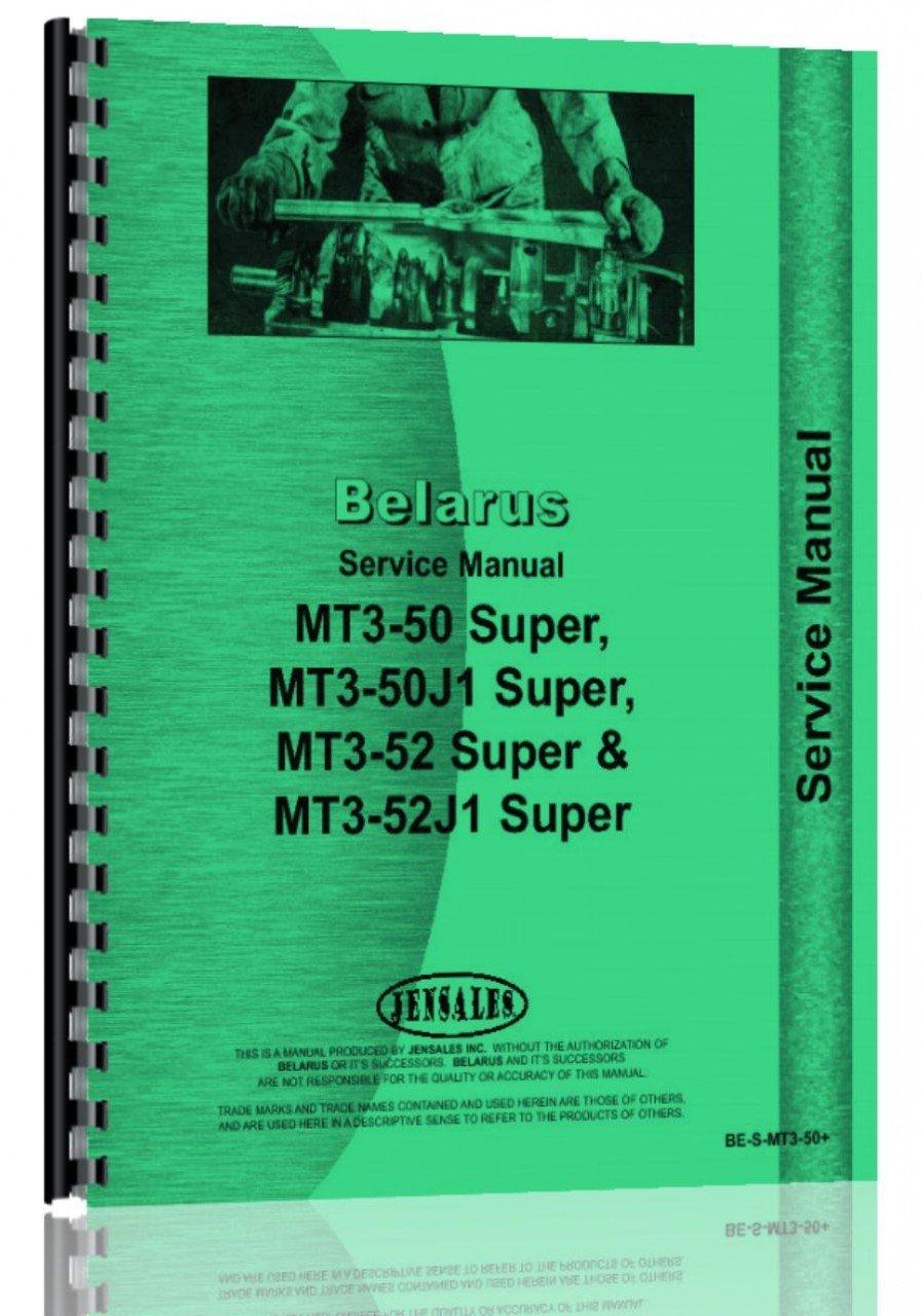 Belarus MT3-52J1 Tractor Parts Manual pdf epub