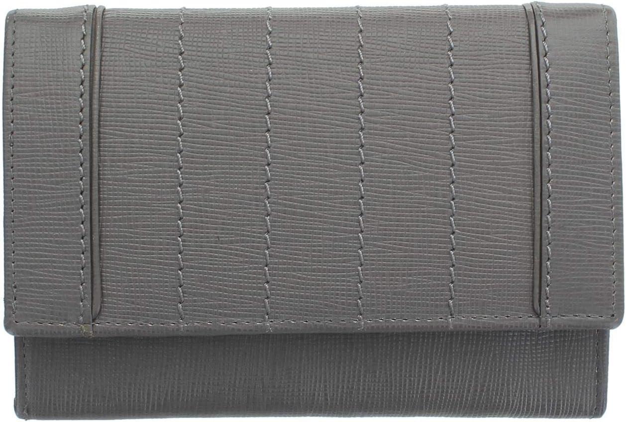 Mala Amelia Colección graneado RFID Bolso de Cuero 3469_25 Gris