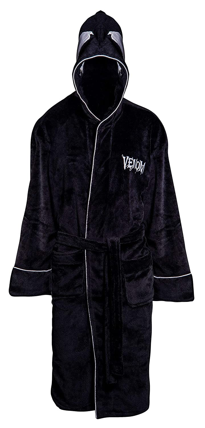 Venom Black Bathrobe