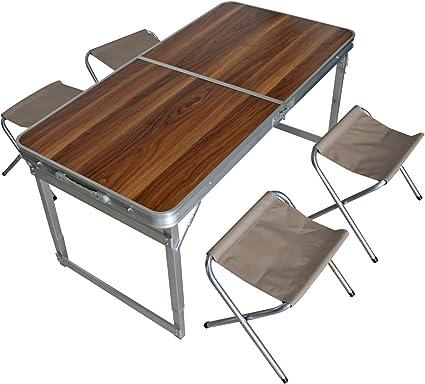 Kit de camping Table pliante Table de camping Table de ...