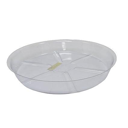 Amazon Com Misco Modern Patio Round Clear Plastic Planter Saucer