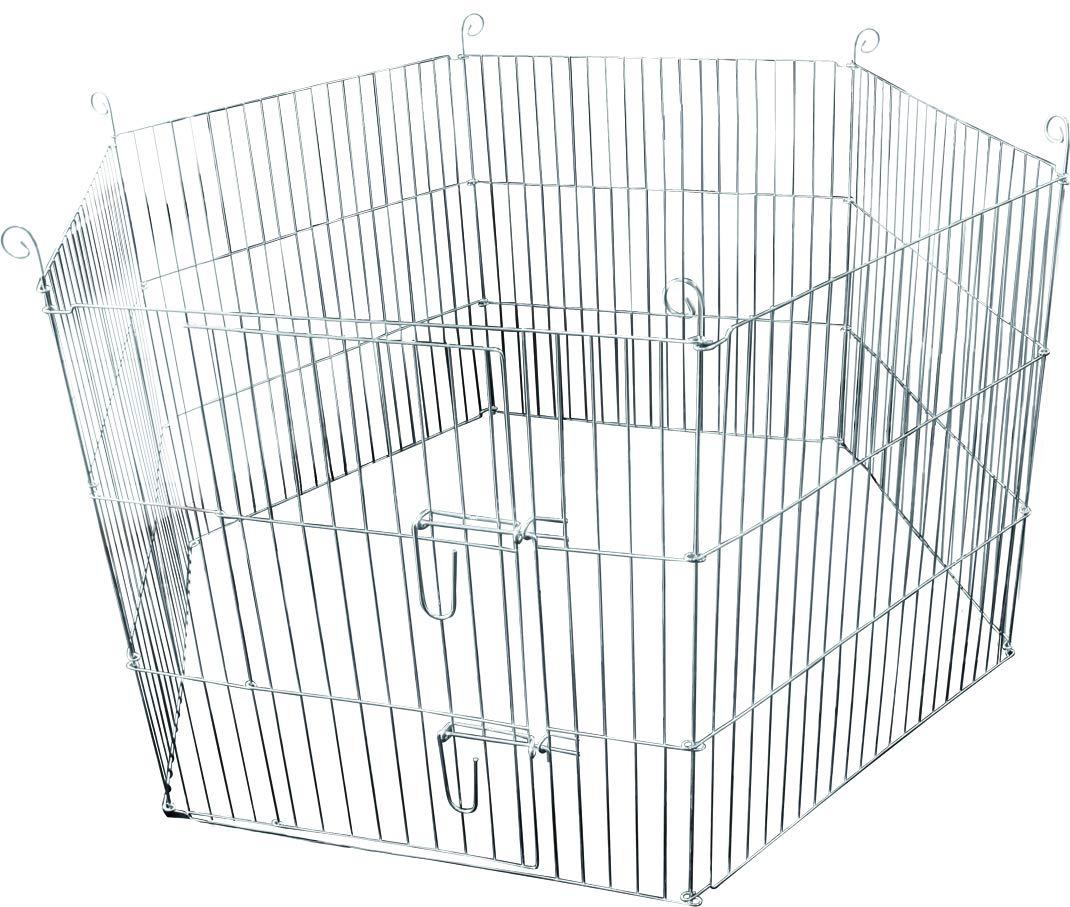 Flamingo Jaula para Conejos 60 x 60 cm: Amazon.es: Productos para ...