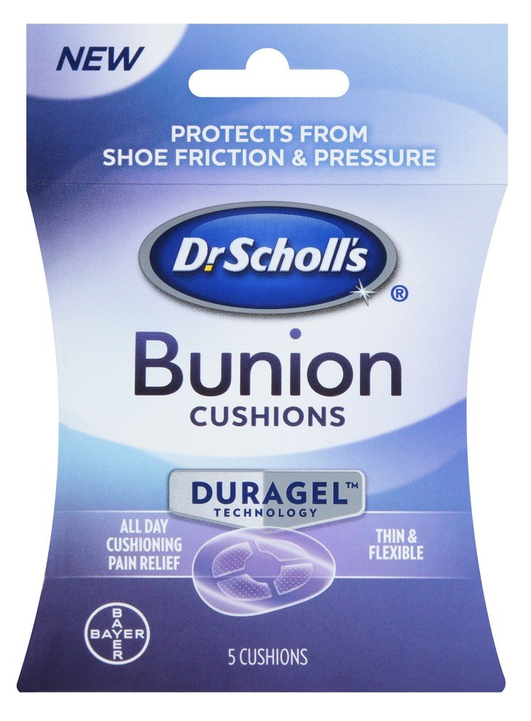 Dr. Scholls Bunion Duragel 5 Cushions (3 Pack)