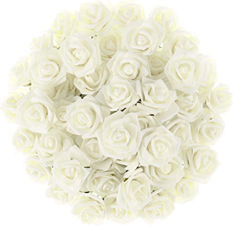 Wedding Flowers Roses 20pcs Real Touch Fake Flowers for Wedding Decoration Reception Centerpieces Yellow Real Touch Rose
