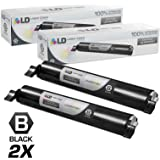 LD © Compatible Replacements for Panasonic KX-FAT461 Set of 2 High Yield Black Laser Toner Cartridges for use in Panasonic KX-MB2000, KX-MB2010, KX-MB2030, and KX-MB2061 Printers