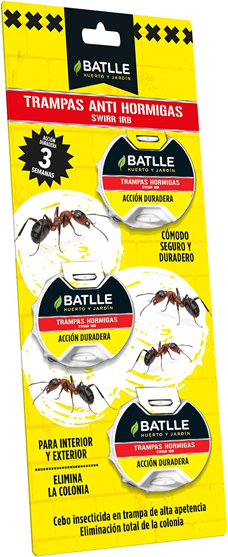 Fitosanitarios - Anti Hormigas 3 Trampas de 5g - Batlle: Amazon.es: Jardín