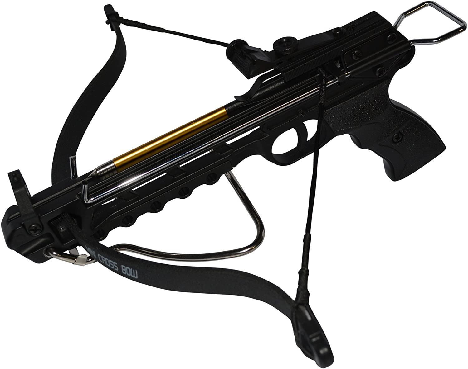 Amazon.com : Rogue River Tactical 80lbs 80 Pound Pistol Crossbow with Arrow  Holder w/27 Cross Bow Bolts Arrows … … : Sports & Outdoors