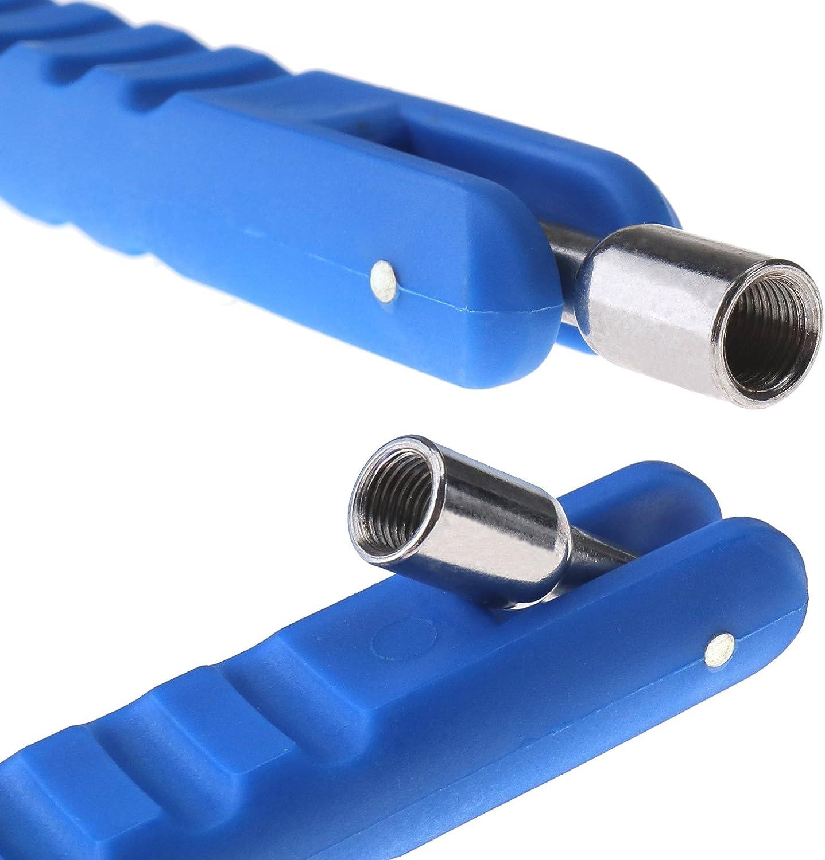 per auto Kit di estrattore per valvole pneumatici in metallo moto bici auto Enet