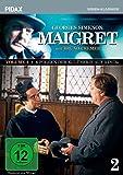 Maigret, Vol. 2 / Weitere 6 Folgen der Kult-Serie mit Bruno Cremer nach dem Romanen von Georges Simenon (Pidax Serien-Klassiker)  [3 DVDs]