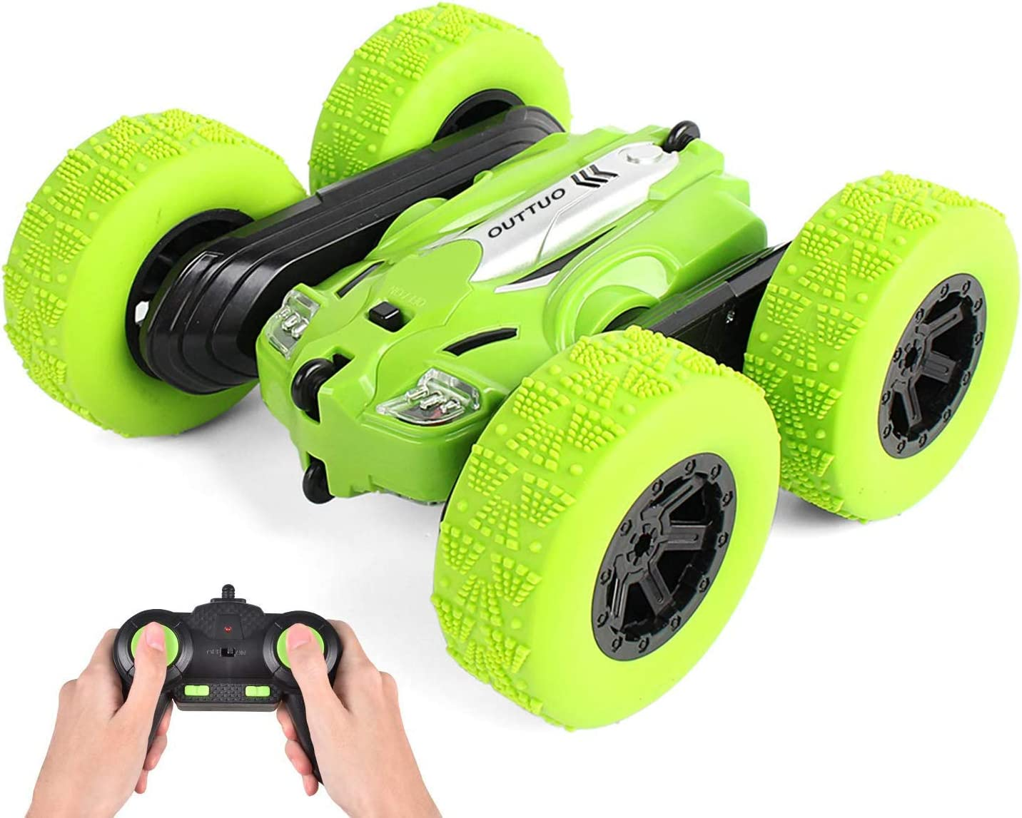 2,4 GHz RC Stunt Auto,4WD 360 Spins Ferngesteuertes Auto Stunt Auto für Kinder