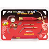 Goss KX-3B Soldering Brazing Torch Kit for'B' Acetylene Tanks with GA-3 and GA-11 Target Tips and Hot Turbine Flame