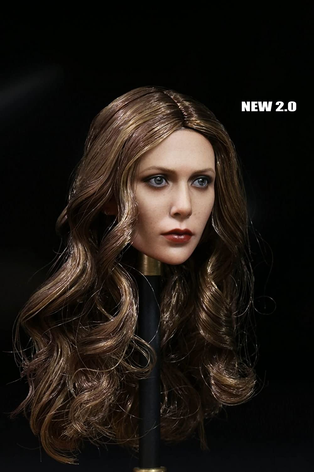 Captain America Civil War Elizabeth Olsen 1//6 Scale Female 3.0 Head Model New