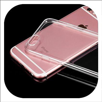 Amazon.com: Carcasa de silicona para iPhone 6, S, 6S, 7, 8 ...