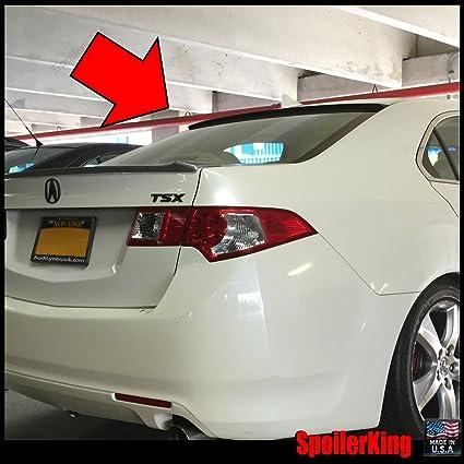 amazon com acura tsx 2009 2014 rear window roof spoiler 818r rh amazon com 2010 Acura TSX Rear Window Spoiler Acura TSX Mugen Rear Spoiler