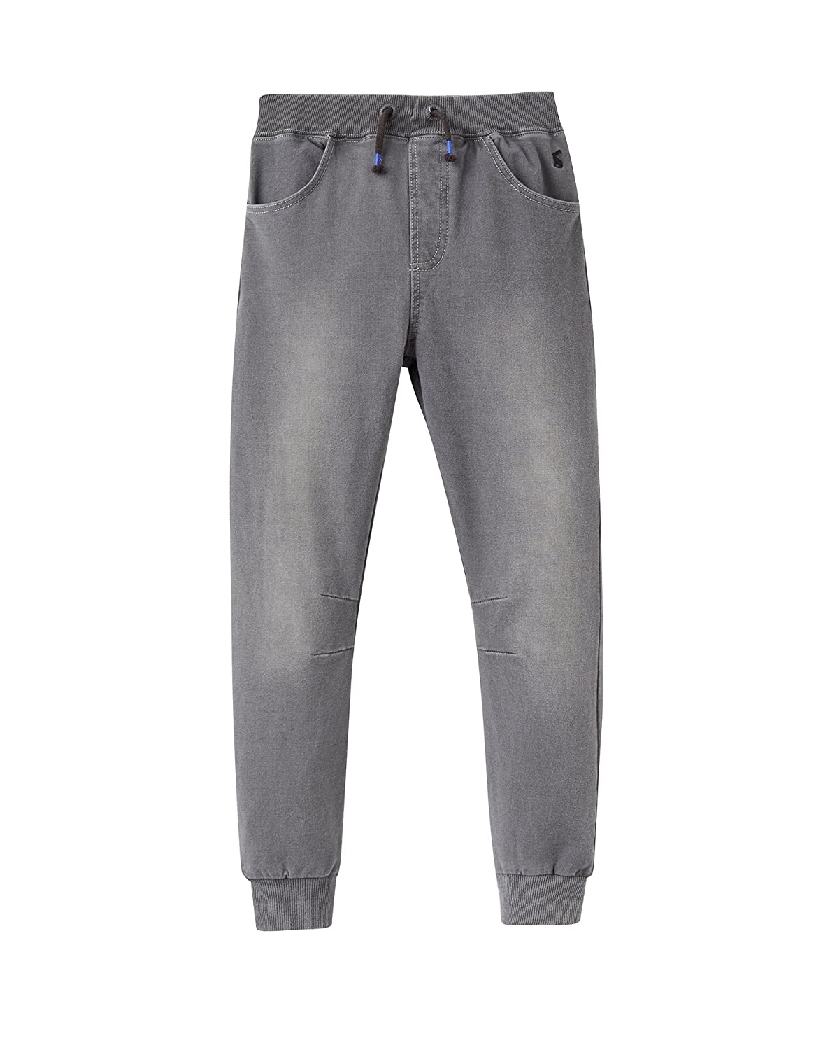 Joules Jersey Denim Joggers - Grey