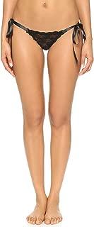 product image for hanky panky Women's Peek-A-Boo Lace Side Tie Bikini Black Bikini