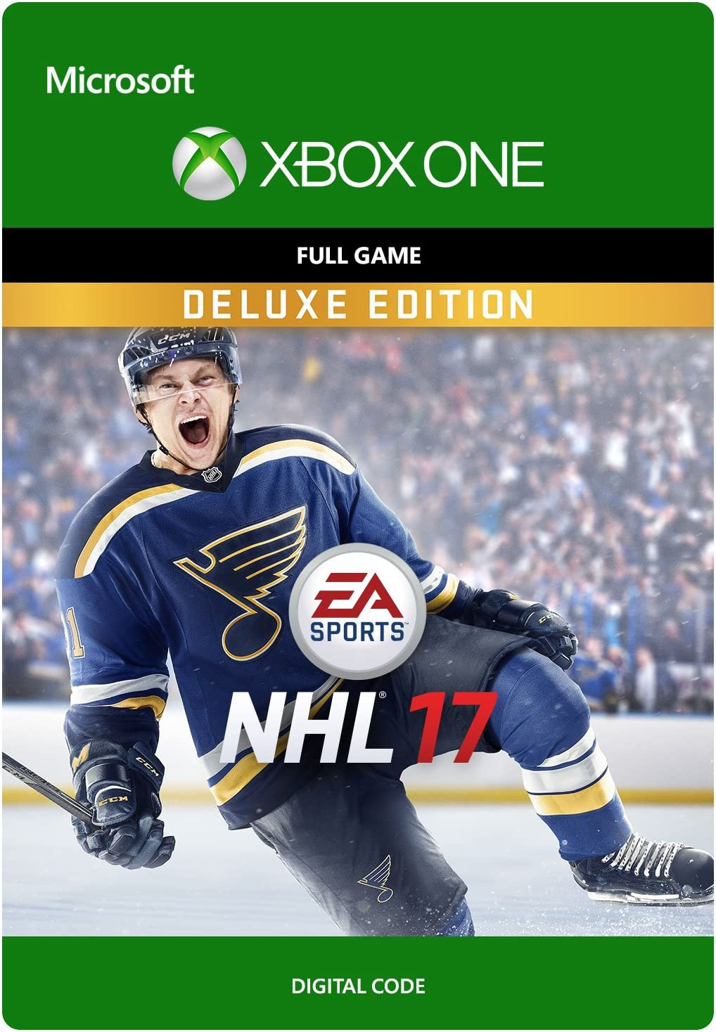 Amazon Com Nhl 17 Deluxe Edition Xbox One Digital Code Video Games