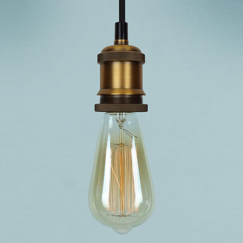 Giant Light Bulb Lamp Vintage Edison Globe Light Bulb 60w Giant Spiral Globe Dimmable