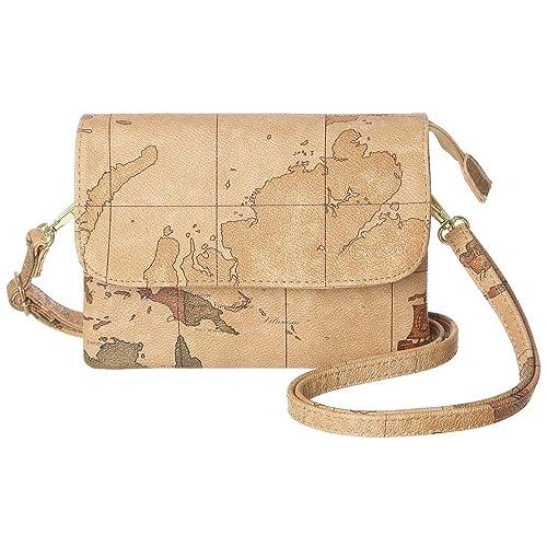 Amazon.com: MINICAT World Map Series - Bolso bandolera de ...