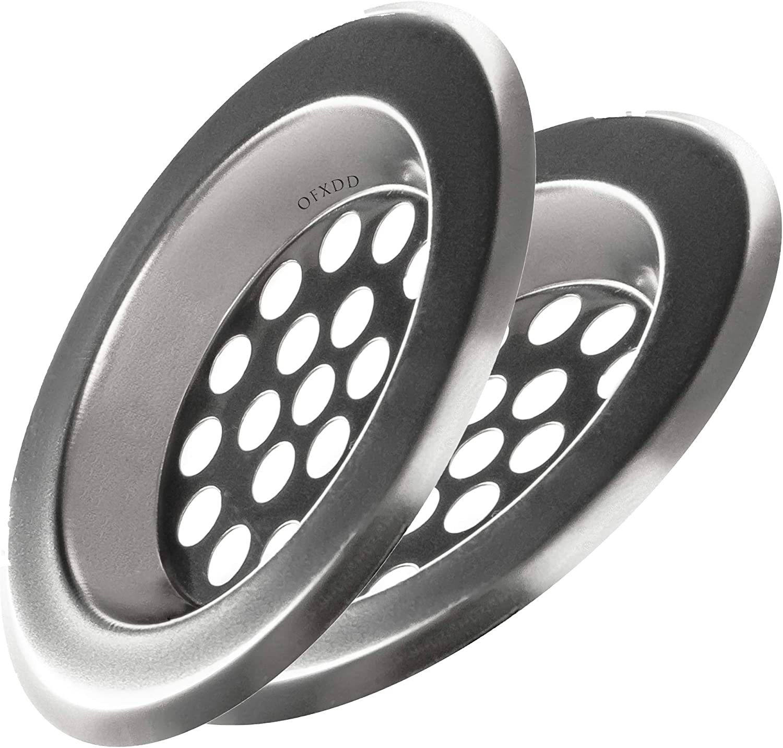 "Details about  /2.5/"" Round Snap-in Floor Drain Cover Hair Catcher Sink Drain Strainer"