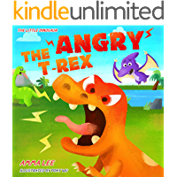 The Angry T. Rex!: Dinosaurs kids, Dinosaur childrens books book for kids ages 3-5, Counting, Emotional and EQ (The Little Dinosaurs 1)