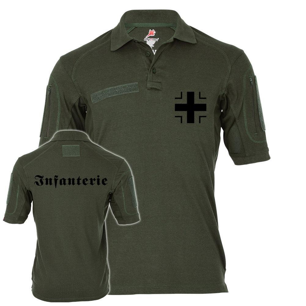 Tactical Poloshirt Alfa - Infanterie Balkenkreuz Soldat Einheit BW Landstreitkräfte Deutschland  19461