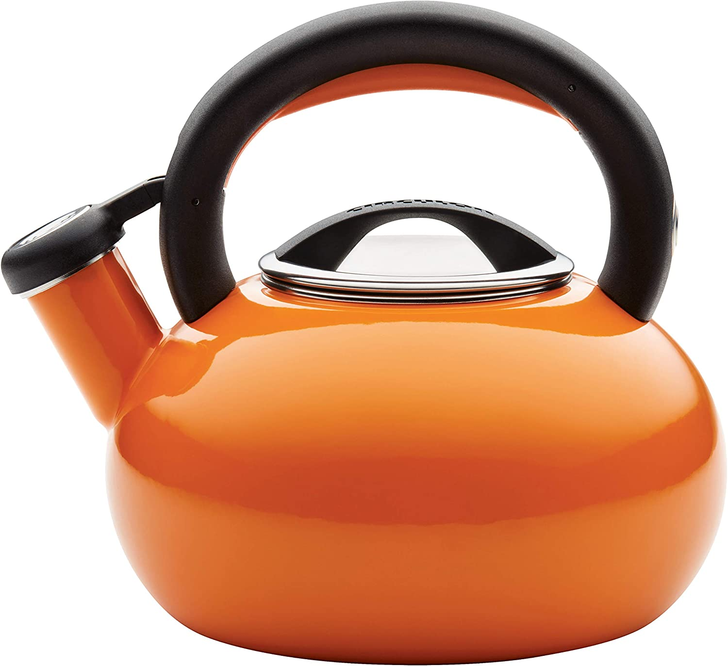 Circulon Sunrise Whistling Kettle/Stovetop Teakettle/Tea Pot, 1.5 Quart,
