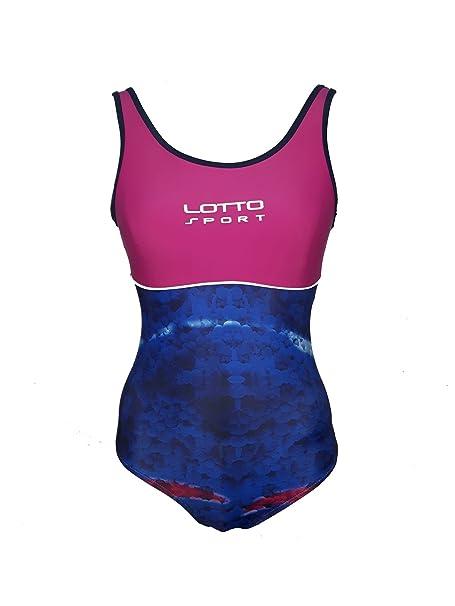 1e03aba6245d Lotto Costume Donna olimpionico Intero Piscina e Mare Sport Art. 3045:  Amazon.it: Abbigliamento