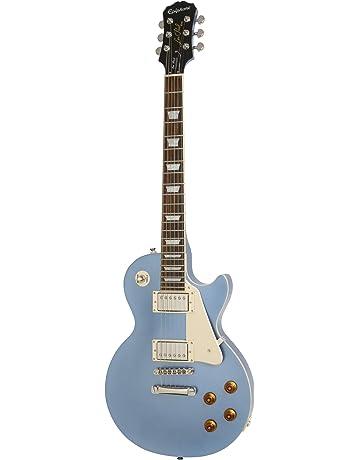 Epiphone Les Paul Standard - Guitarra eléctrica, color pelham blue: Amazon.es: Instrumentos musicales