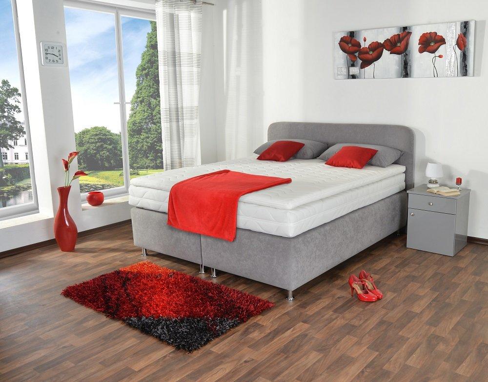 spenger bettenstudio boxspringbett paris 120x200 cm. Black Bedroom Furniture Sets. Home Design Ideas
