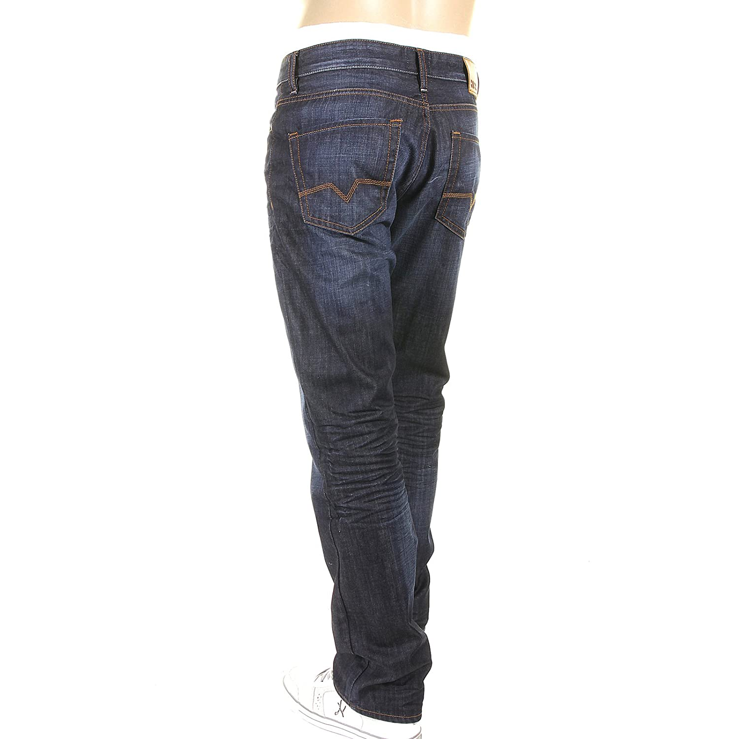 7c8e139e1b Boss Orange jeans Orange25 moonlight washed indigo 50177587 402 Hugo Boss  denim jean BOSS2614: Amazon.co.uk: Clothing