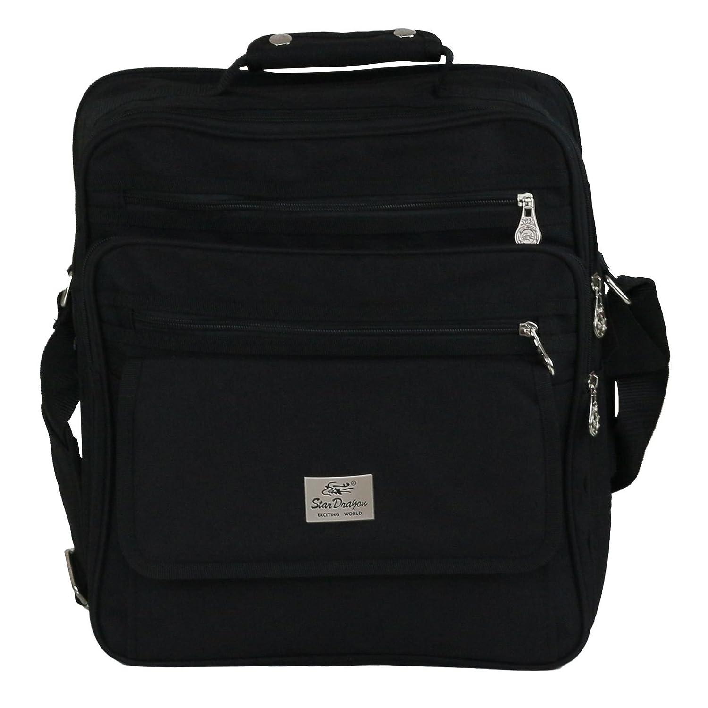 Herren Arbeitstasche Messenger Bag Schultasche Umhängetasche Business Tasche Handtasche (L)