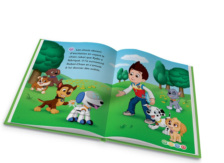81509 Pat Patrouille Livres électroniques LeapFrog Livre Mon Lecteur Leap